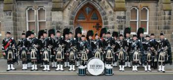 Photograph of Thurso Pipe Band