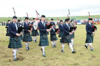 Photograph of Caithness Junior Pipe Band