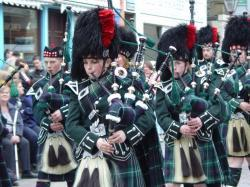 Photograph of Wick RBLS Pipe Band