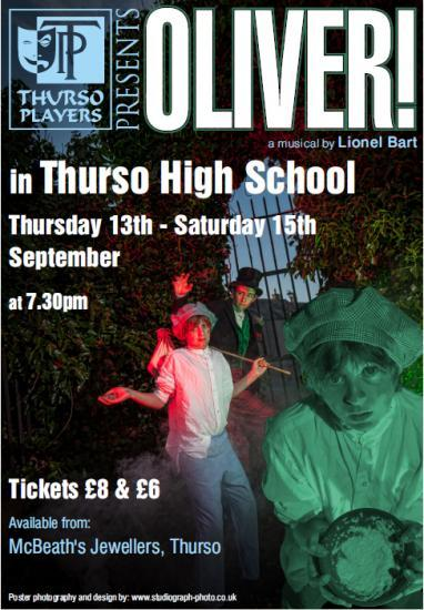 Photograph of Oliver  - Musical By Thurso Players