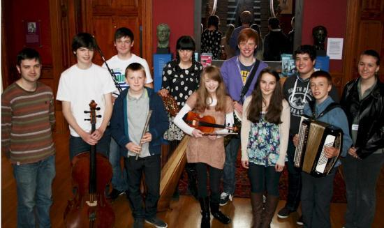 Photograph of Young People take on 'The Boy and the Bunnet'