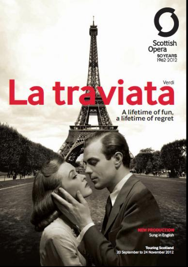 Photograph of La Traviata Coming To Thurso