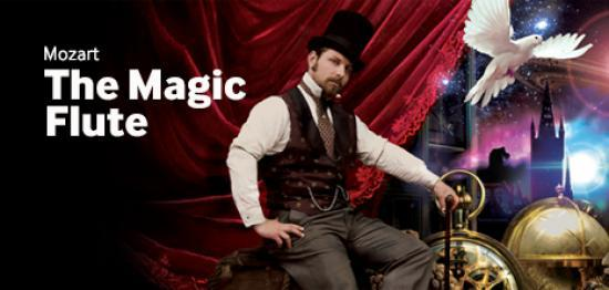 Photograph of New Produuction Of The Magic Flute