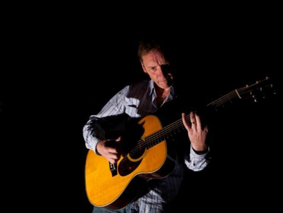 Photograph of Solo Guitar John Goldie At Lyth Arts Centre