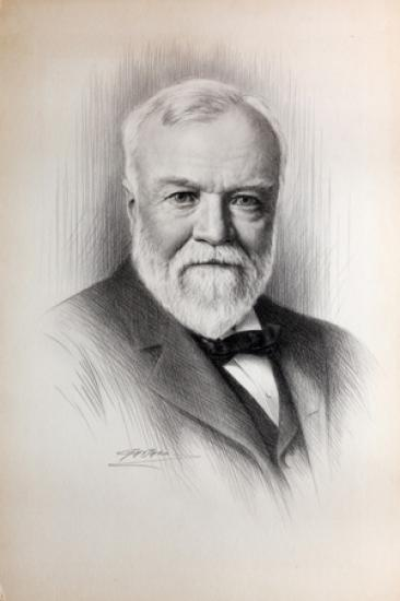 how was andrew carnegie a hero