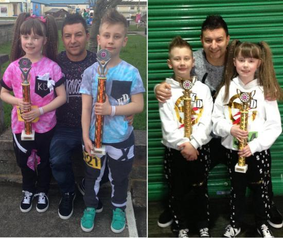 Photograph of More Trophies For Rushdance