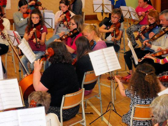 Photograph of Far North Youth Orchestra Enjoyed A Day of Music Making