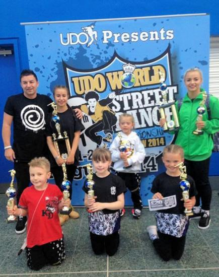 Photograph of UDO World Street dance championships
