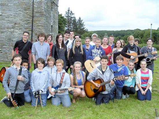 Photograph of Youth Showcase - live concert by local musicians