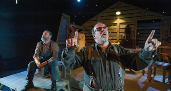 Photograph of Mull Theatre in: The Drawer Boy