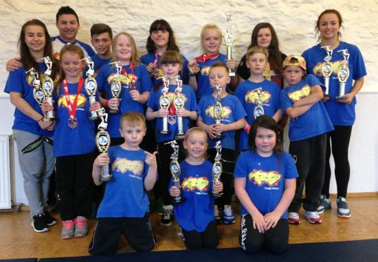 Photograph of Rush.dance Win Big at Central Scotland Street dance championships