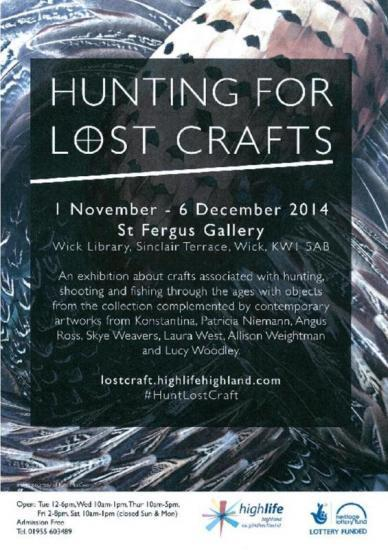 Exhibition: the High Hunting and Fly Fishing
