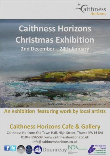 Photograph of Caithness Horizons Christmas Exhibition