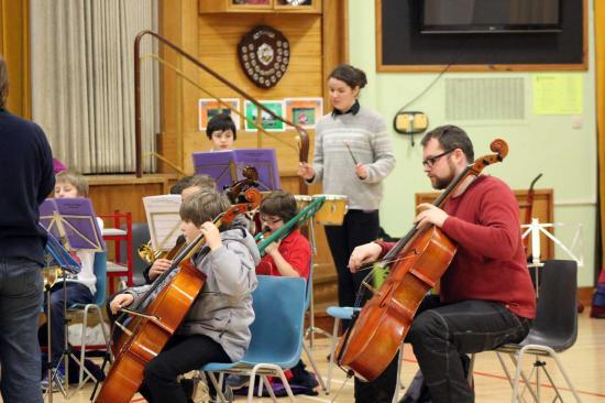 Photograph of Caithness Junior Orchestra - new members welcome!