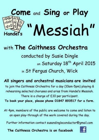 Photograph of Come and Sing or Play The Messiah!