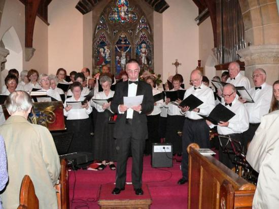 Photograph of Concert Held In Episcopal Church, Wick
