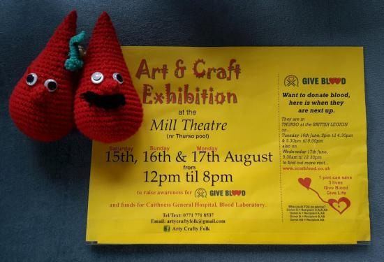 Photograph of Calling all Art and Craft folk. - Art & Craft Exhibition, August 2015