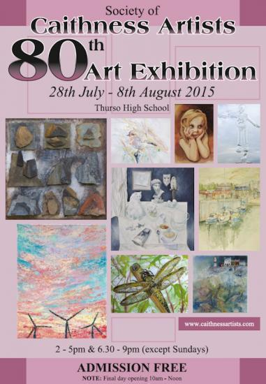 Photograph of Society Of Caithness Artists 80th Art Exhibition