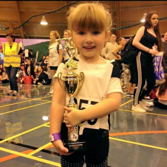 Photograph of Rush.dance Youngest Team Member Shows Talent In Perth