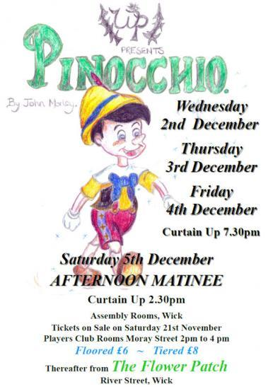 Photograph of Pinocchio - Pantomime From Wick Players