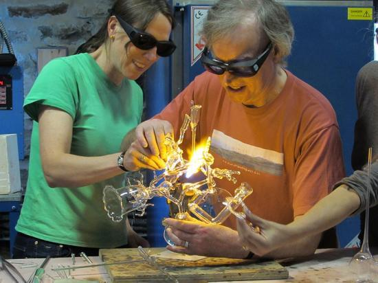 Photograph of Flameworking Glass Courses