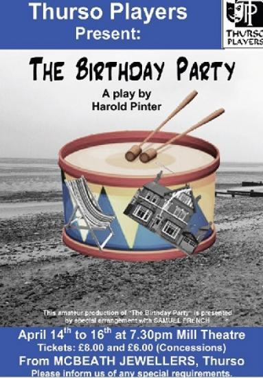 Photograph of The Birthday Party by Harold Pinter