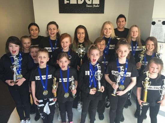 Photograph of Rushdance Kids Hit The 2016 Competitions At UDO Championships