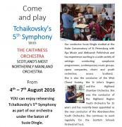 Thumbnail for article : Come and play Tchaikovskys 5th Symphony With The Caithness Orchestra
