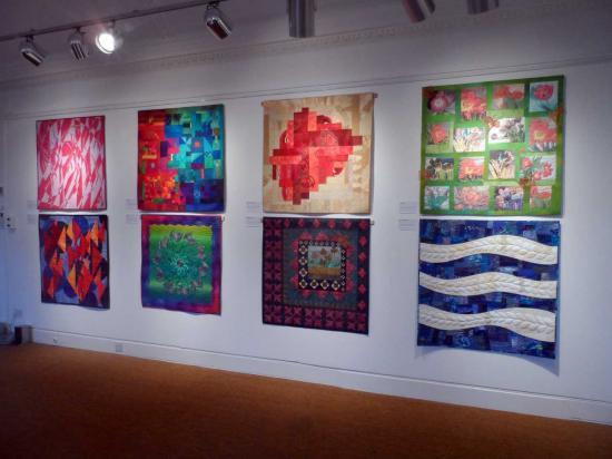 Photograph of The 25 for 25 Collection - Quilt Exhibition