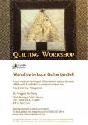 Thumbnail for article : Quilting Workshop - Friday 10th June 2016
