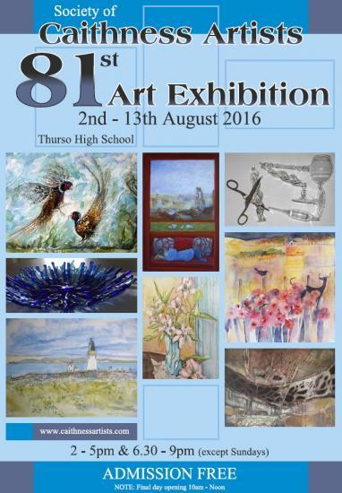 Photograph of Society of Caithness Artists 81st Annual Exhibition