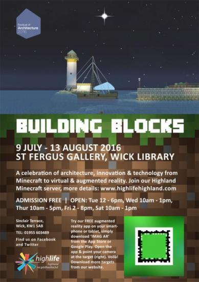 Photograph of Building Blocks At St Fergus Gallery