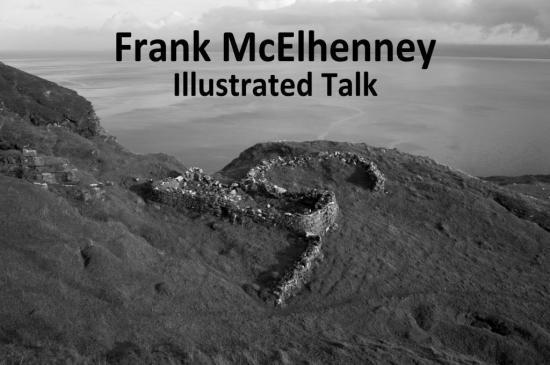 Photograph of FRANK MCELHENNEY - ILLUSTRATED TALK - 5th August 2016