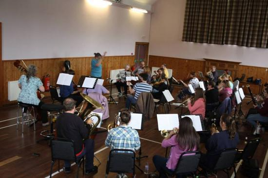 Photograph of Caithness Orchestra 2016 course  - Performance Sunday 7th August 2016