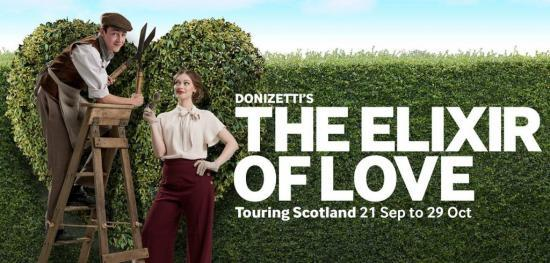 Photograph of SCOTTISH OPERA PRESENTS THE ELIXIR OF LOVE- 4th October 2016