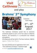 Thumbnail for article : Visit Caithness and Play Brahms 3rd Symphony