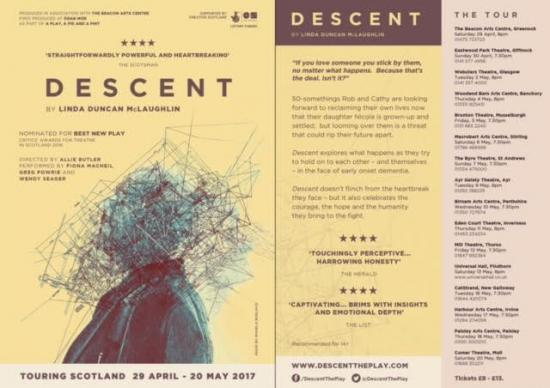 Photograph of Descent - A New Play At Mill Theatre, Thurso