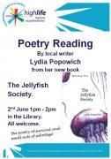 Thumbnail for article : Poetry Reading By Lydia Popowich