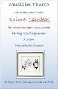 Thumbnail for article : Music In Thurso - Quintet Cairdeas