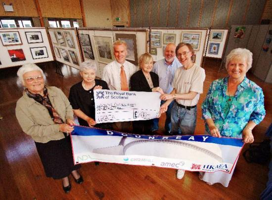 Photograph of Dounreay Supports Local Art