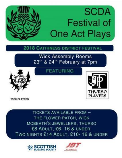 Photograph of Scottish Community Drama  - Festival of One Act Plays