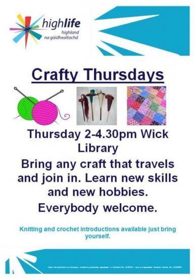 Photograph of Crafty Thursdays