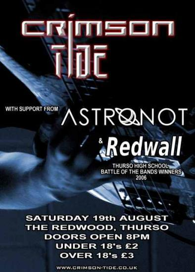 Photograph of Crimson Tide At The Redwood 19th August