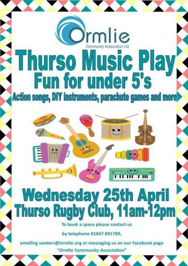 Photograph of Thurso Music Play - Fun For Under 5s