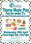 Thumbnail for article : Thurso Music Play - Fun For Under 5s