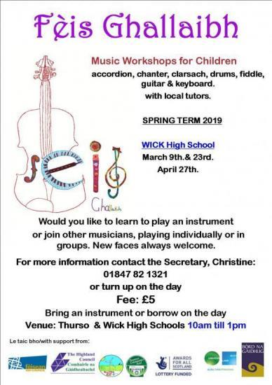 Photograph of Feis Ghallaibh Instrumental Music Workshops