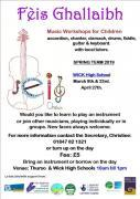 Thumbnail for article : Feis Ghallaibh Instrumental Music Workshops