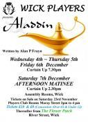 Thumbnail for article : Wick Players Geared Up For Christmas Panto - Aladdin