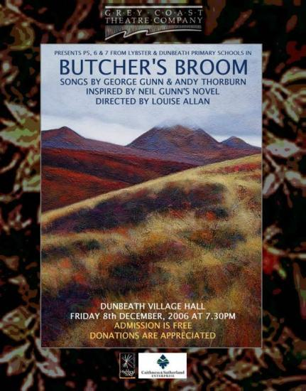 Photograph of Grey Coast Theatre Presents Butchers Broom At Dunbeath