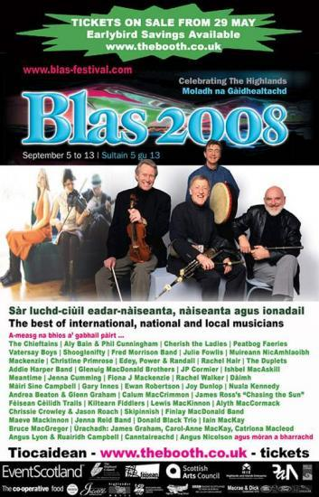 Photograph of Blas Festival 2008 Launches Cultural Programme